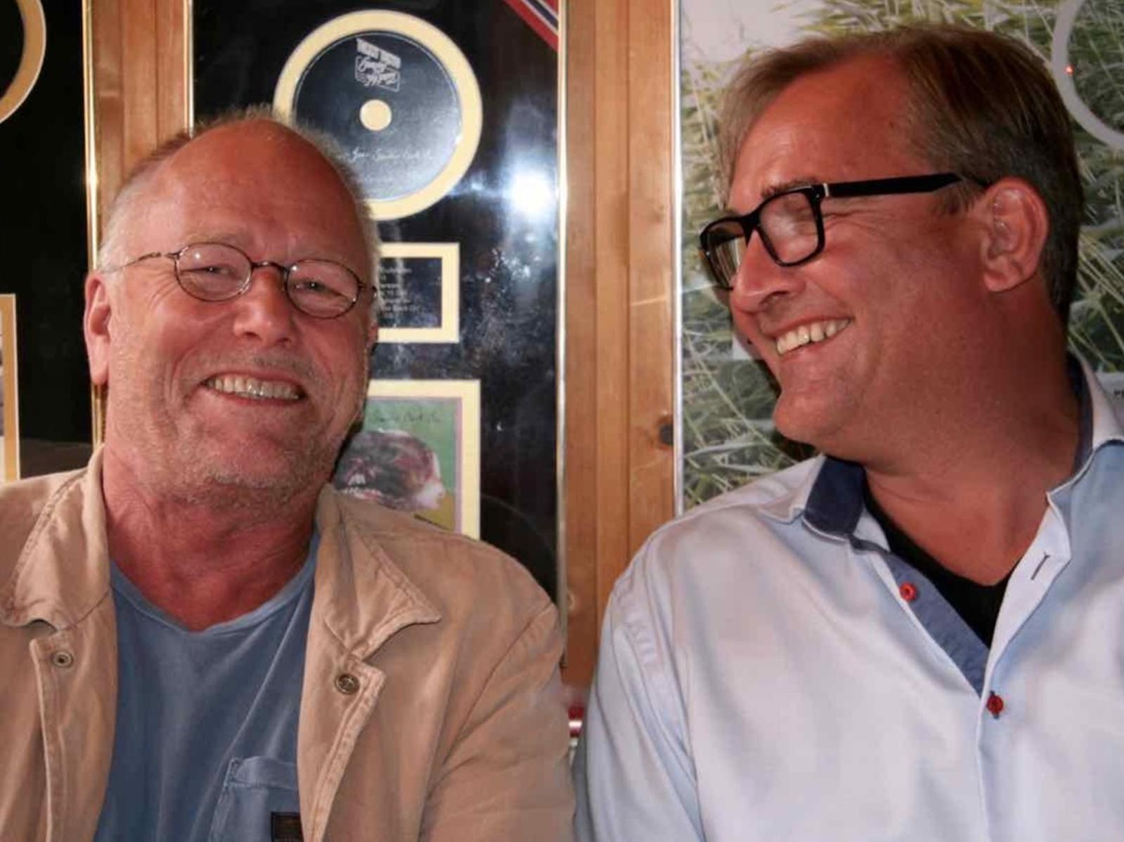 Da Lykkeliten kom fra Bergen! Lars Martin Myhre forteller om sitt første møte med Nicolay Leganger